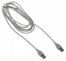 Кабель Buro BHP RET USB_AM30 USB A(m) USB A(m) 3м серый блистер