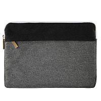 """Чехол для ноутбука 13.3"""" Hama Florence черный/серый полиэстер (00101566)"""