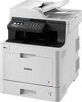 МФУ лазерный Brother DCP-L8410CDW (DCPL8410CDWR1) A4 Duplex Net WiFi серый