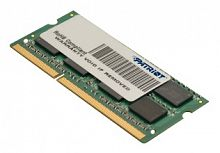 Память DDR3L 4Gb 1600MHz Patriot PSD34G1600L81S RTL PC3-12800 CL11 SO-DIMM 204-pin 1.35В dual rank