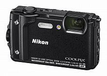 "Фотоаппарат Nikon CoolPix W300 черный 16Mpix Zoom5x 3"" 4K 99Mb SDXC/SD/SDHC CMOS 1x2.3 50minF 30fr/s HDMI/KPr/DPr/WPr/FPr/WiFi/GPS/EN-EL12"