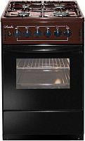 Плита Комбинированная Лысьва ЭГ 401-2у коричневый
