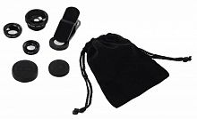Комлект объективов Hama Uni черный для для планшетов и смартфонов (00044338)
