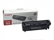 Картридж лазерный Canon 703 7616A005 черный (2000стр.) для Canon LBP-2900/3000