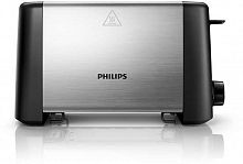 Тостер Philips HD4825/90 800Вт черный/серебристый