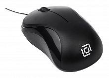 Мышь Oklick 115SR черный оптическая (1000dpi) USB для ноутбука (2but)