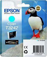 Картридж струйный Epson T3242 C13T32424010 голубой (4200стр.) (14мл) для Epson SureColor SC-P400