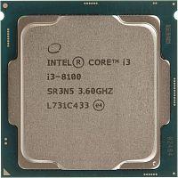 Процессор Intel Original Core i3 8100 Soc-1151v2 (BX80684I38100 S R3N5) (3.6GHz/Intel UHD Graphics 630) Box