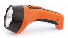 Фонарь аккумуляторный Яркий Луч LA-10 оранжевый 1Вт лам.:светодиод.