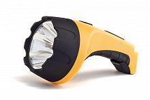 Фонарь аккумуляторный Яркий Луч LA-20 желтый/черный 2Вт лам.:светодиод.