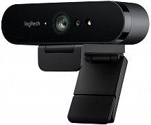 Камера Web Logitech Brio черный (4096x2160) USB3.0 с микрофоном