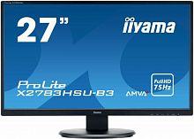"""Монитор Iiyama 27"""" ProLite X2783HSU-B3 черный VA LED 4ms 16:9 HDMI M/M матовая 3000:1 300cd 178гр/178гр 1920x1080 D-Sub DisplayPort FHD USB 4.4кг"""