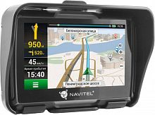 "Навигатор Автомобильный GPS Navitel G550 Moto 4.3"" 480x272 8Gb microSD черный Navitel"