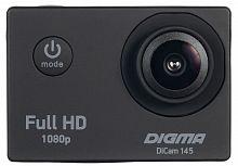 Экшн-камера Digma DiCam 145 черный