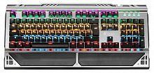 Клавиатура Оклик 980G HUMMER механическая черный USB for gamer LED (подставка для запястий)