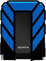 "Жесткий диск A-Data USB 3.0 2Tb AHD710P-2TU31-CBL HD710Pro DashDrive Durable 2.5"" голубой"