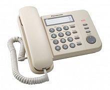 Телефон проводной Panasonic KX-TS2352RUJ бежевый