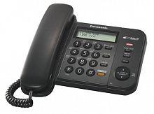 Телефон проводной Panasonic KX-TS2358RUB черный