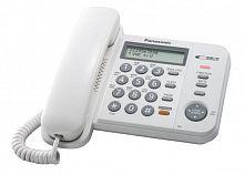 Телефон проводной Panasonic KX-TS2358RUW белый