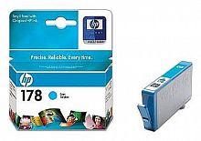 Картридж струйный HP 178 CB318HE голубой (300стр.) для HP C5383/C6383/B8553/D5463