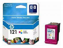 Картридж струйный HP 121 CC643HE многоцветный (165стр.) для HP F4283/D2563