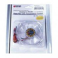 Вентилятор Titan TFD-C802512Z/TC(RB) 80x80x25mm 3-pin 23dB 100gr Ret