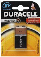 Батарея Duracell Basic 6LR61/6LF22/6LP3146 MN1604 9V (1шт)