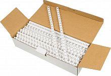 Пружины для переплета пластиковые Fellowes d=10мм 41-55лист A4 белый (100шт) CRC-53458 (FS-53458)