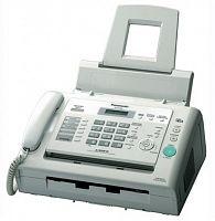 Факс Panasonic KX-FL423RUW белый печ.:лазерный АОН