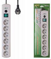 Сетевой фильтр Most RG 10м (6 розеток) белый (коробка)