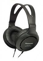 Наушники мониторные Panasonic RP-HT161E-K 2м черный проводные оголовье