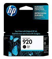 Картридж струйный HP 920 CD971AE черный для HP OJ 6000/6500