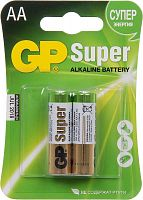 Батарея GP Super Alkaline 15A LR6 AA (2шт)