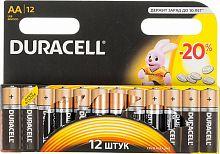 Батарея Duracell Basic LR6-12BL MN1500 AA (12шт)