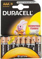Батарея Duracell Basic LR03-8BL MN2400 AAA (8шт)