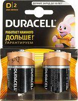 Батарея Duracell Basic LR20-2BL MN1300 D (2шт)