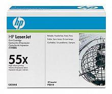 Тонер Картридж HP 55X CE255X черный (12500стр.) для HP LJ P3015