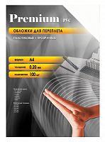 Обложки для переплёта Office Kit A4 прозрачный (100шт) PCA400200