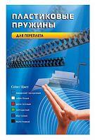 Пружины для переплета пластиковые Office Kit d=12мм 71-90лист A4 черный (100шт) BP2030