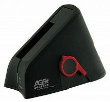 Док-станция для HDD AgeStar 3UBT SATA II пластик черный 1