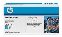 Картридж лазерный HP 648A CE261A голубой (11000стр.) для HP CLJ CP4525