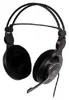 Наушники с микрофоном A4 HS-100 черный/серый 2м мониторы оголовье