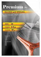 Обложки для переплёта Office Kit A4 прозрачный (100шт) PCA400150