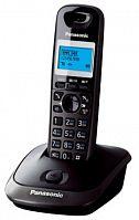 Р/Телефон Dect Panasonic KX-TG2511RUT темно-серый металлик/черный АОН