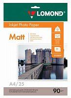 Фотобумага Lomond 0102029 A4/90г/м2/25л./белый матовое для струйной печати