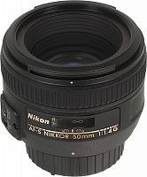 Объектив Nikon Nikkor AF-S (JAA014DA) 50мм f/1.4