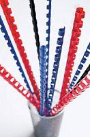Пружины для переплета пластиковые Fellowes d=19мм 121-150лист A4 белый (100шт) CRC-53474 (FS-53474)