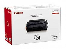Картридж лазерный Canon 724 3481B002 черный (6000стр.) для Canon LBP-6750Dn