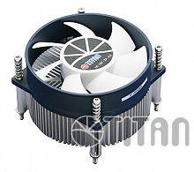 Устройство охлаждения(кулер) Titan TTC-NA32TZ/R Soc-1200/1150/1151/1155 3-pin 20dB Al 95W 245gr Ret