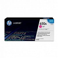 Картридж лазерный HP 650A CE273A пурпурный (15000стр.) для HP LJ CP5520/5525